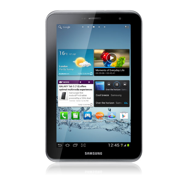 samsung galaxy tab 7 0 2 gt p3110 titanium silver 8 go. Black Bedroom Furniture Sets. Home Design Ideas