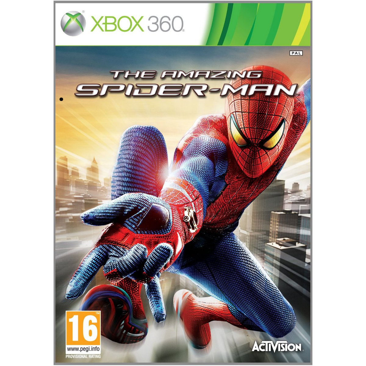 the amazing spider man xbox 360 jeux xbox 360 activision sur. Black Bedroom Furniture Sets. Home Design Ideas