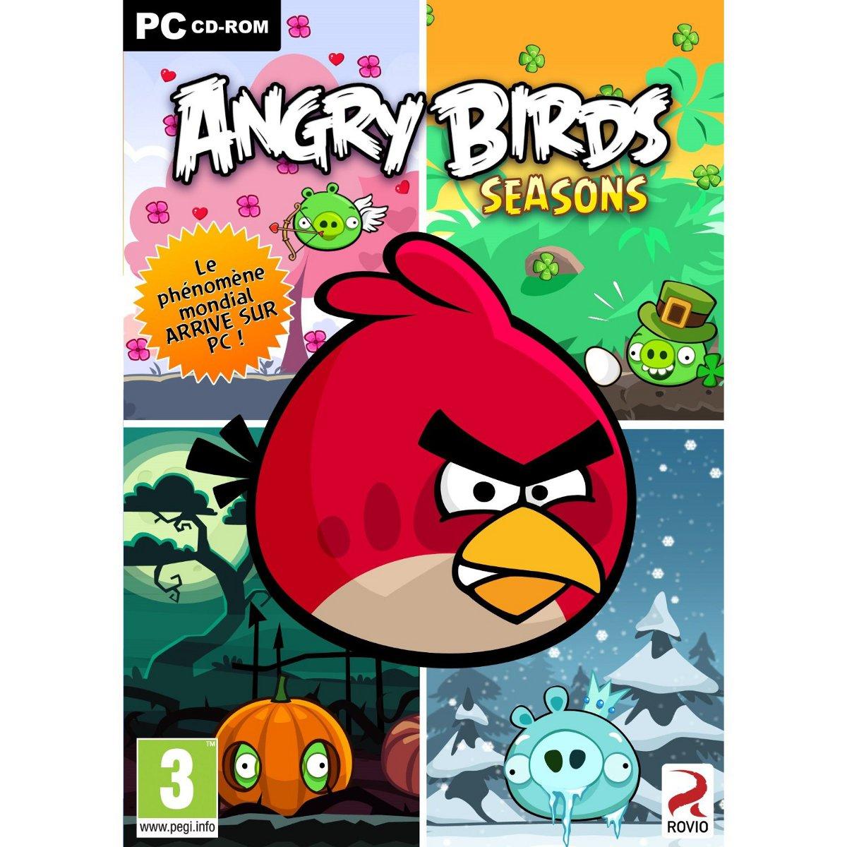 Jeux PC Angry Birds Seasons (PC) Angry Birds Seasons (PC)