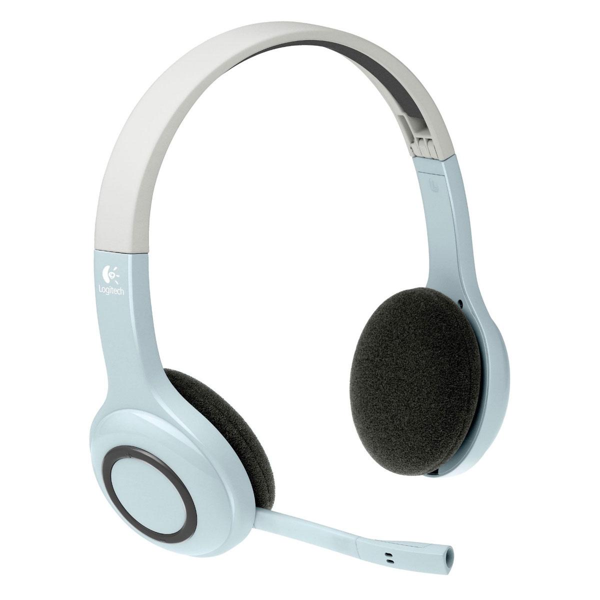 logitech wireless headset h609 for ipad micro casque logitech sur. Black Bedroom Furniture Sets. Home Design Ideas