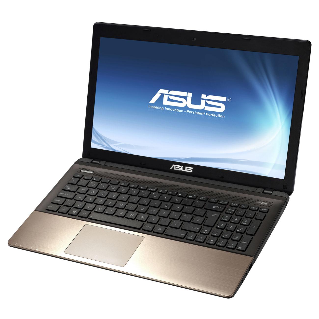 """PC portable ASUS K55VM-SX030V Intel Core i7-3610QM 6 Go 750 Go 15.6"""" LED NVIDIA GeForce GT 630M Graveur DVD Wi-Fi N/BT Webcam Windows 7 Premium 64 bits (garantie constructeur 2 ans)"""