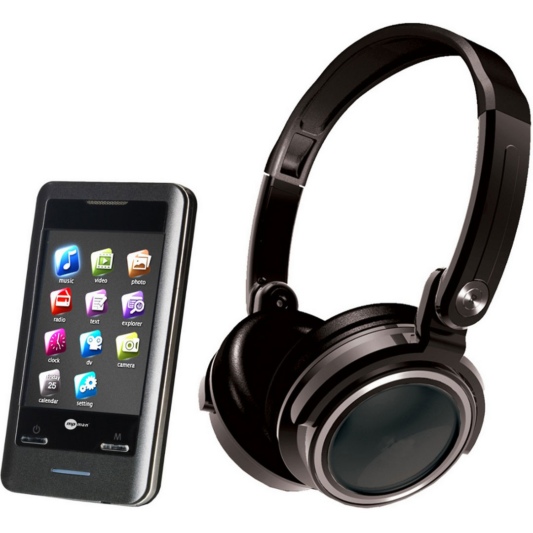 mpman ts302 4 go casque lecteur mp3 ipod mp man sur. Black Bedroom Furniture Sets. Home Design Ideas