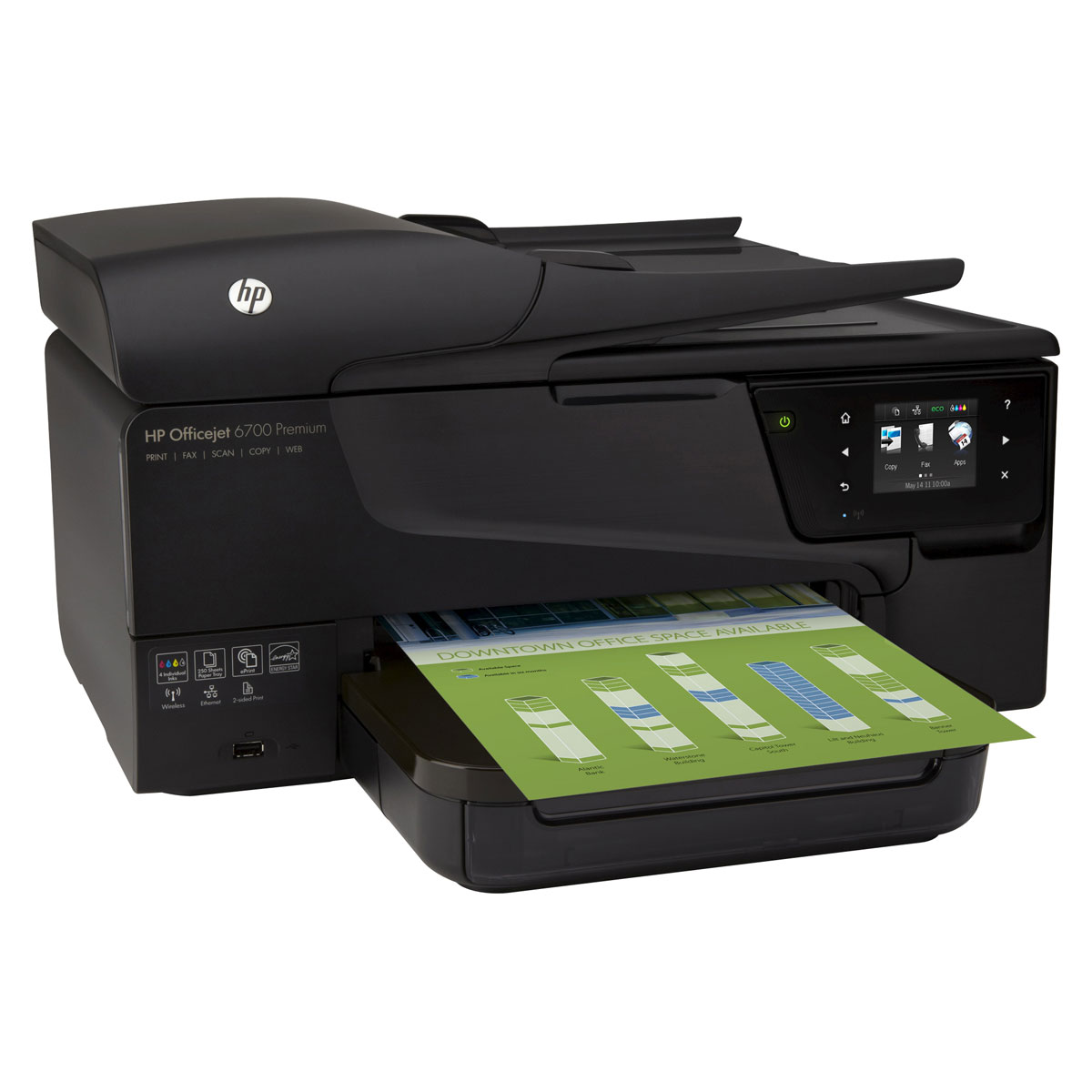 hp officejet 6700 premium imprimante multifonction hp sur. Black Bedroom Furniture Sets. Home Design Ideas