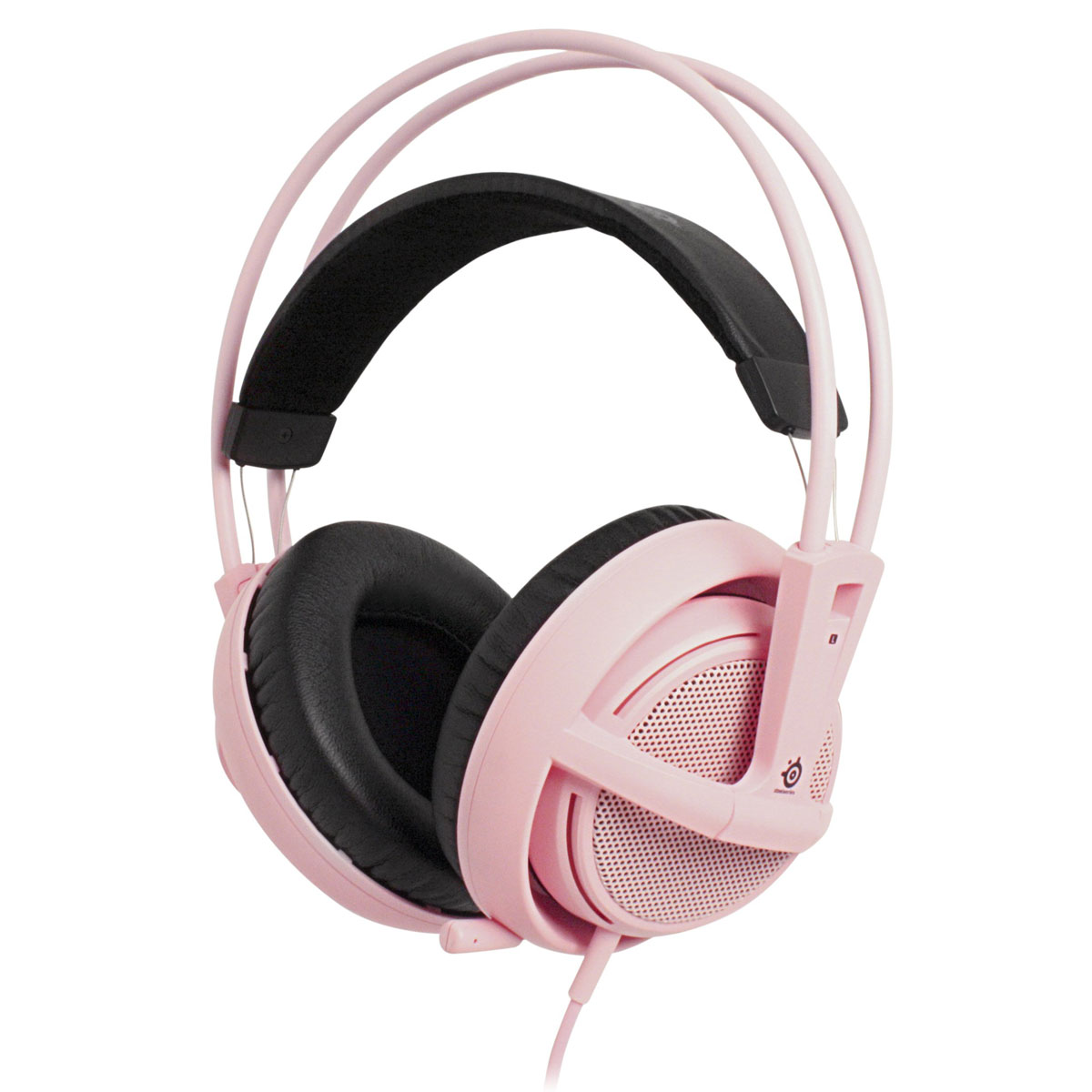 steelseries siberia v2 rose micro casque steelseries sur. Black Bedroom Furniture Sets. Home Design Ideas