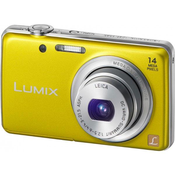 Panasonic lumix dmc fs40ef jaune appareil photo for Miroir projector 720p