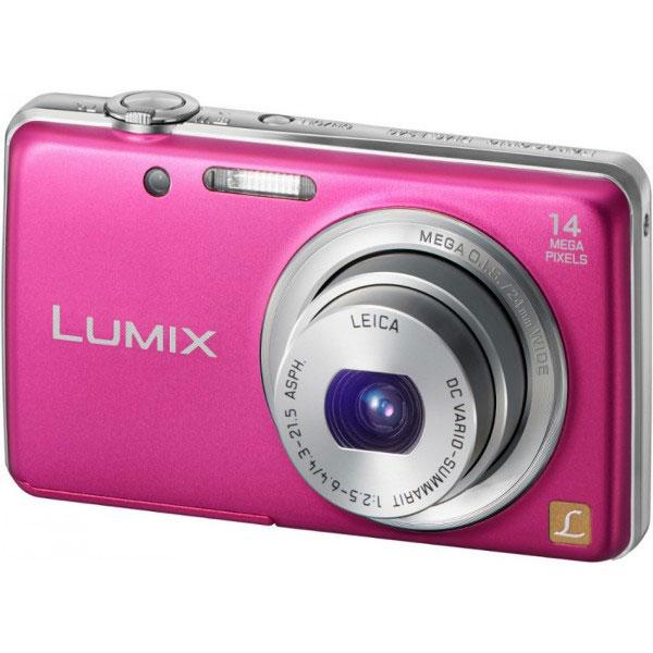 Panasonic lumix dmc fs40ef rose appareil photo num rique for Miroir projector 720p
