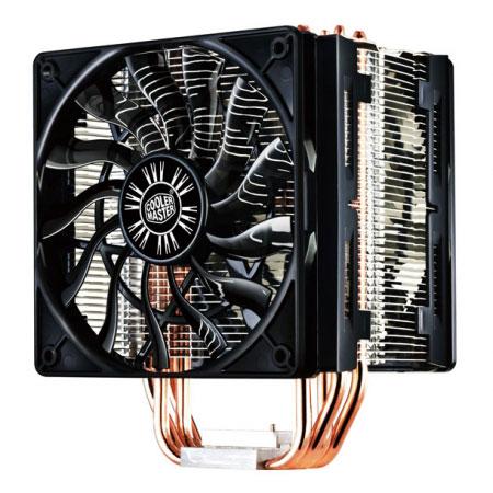 Ventilateur processeur Cooler Master Hyper 412 Slim Ventilateur pour processeur (pour socket Intel 775 / 1150/1151/1155 / 1156 / 1366 / 2011 et AMD AM2 / AM2+ / AM3 / AM3+ / FM1)
