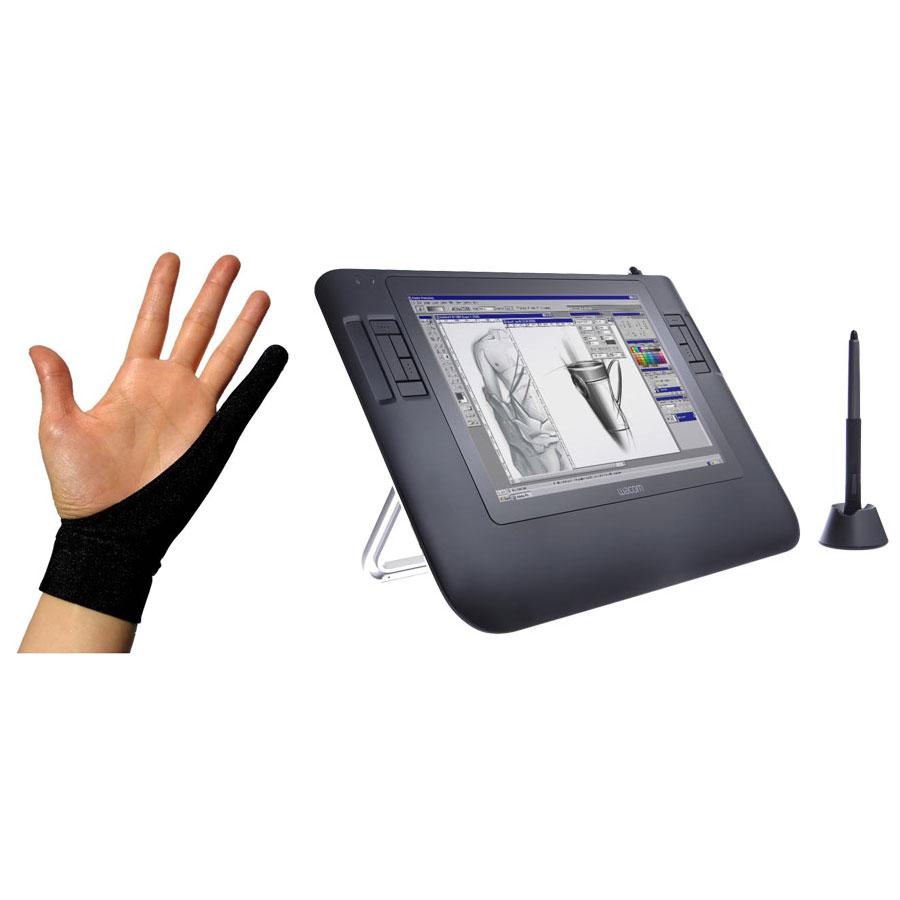 wacom cintiq 12wx gant smudgeguard cool black large mac pc tablette graphique wacom sur. Black Bedroom Furniture Sets. Home Design Ideas