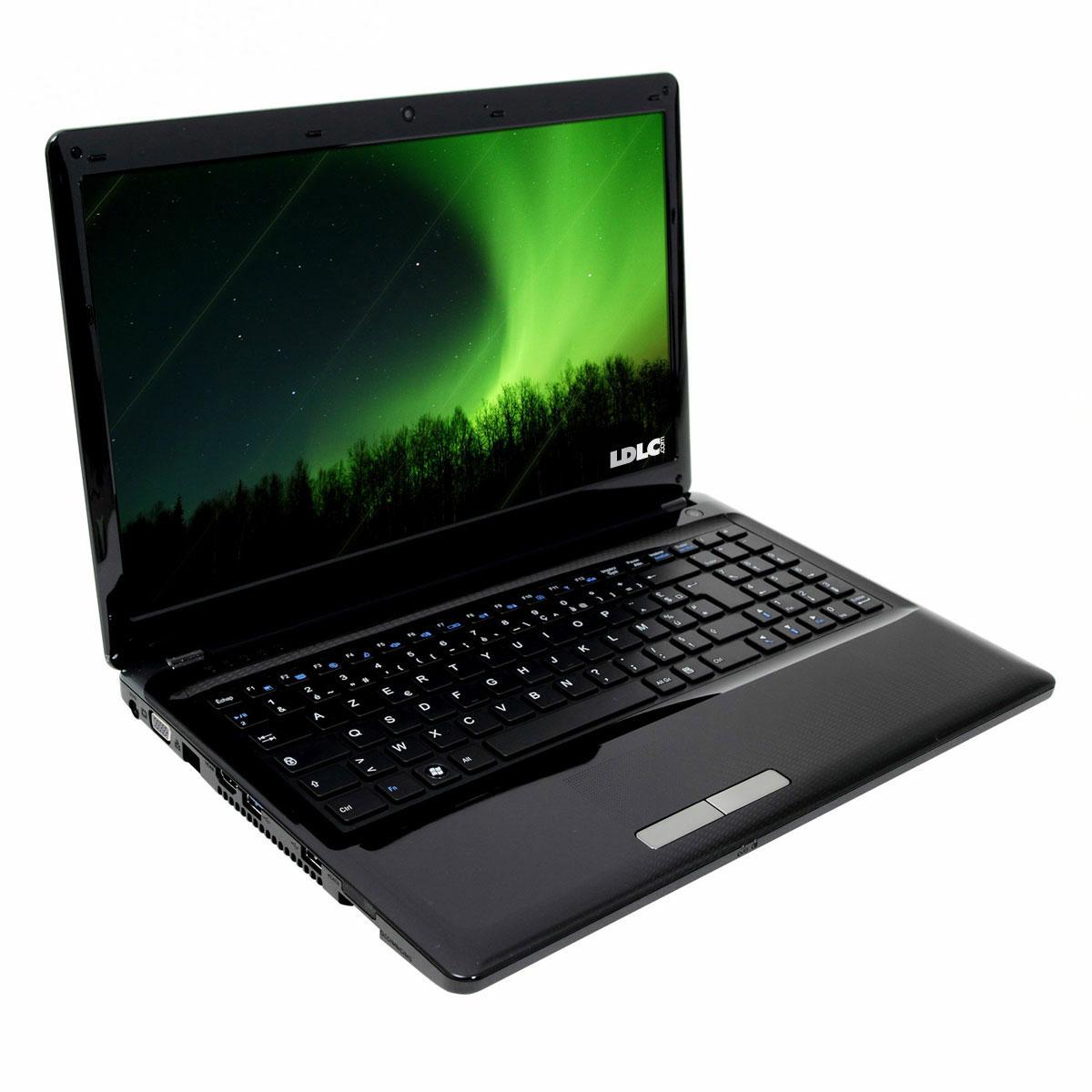 "PC portable LDLC Aurore BB4-I3-4-H6 Intel Core i3-2370M 4 Go 640 Go 15.6"" LED Graveur DVD Wi-Fi N/Bluetooth Webcam (sans OS)"