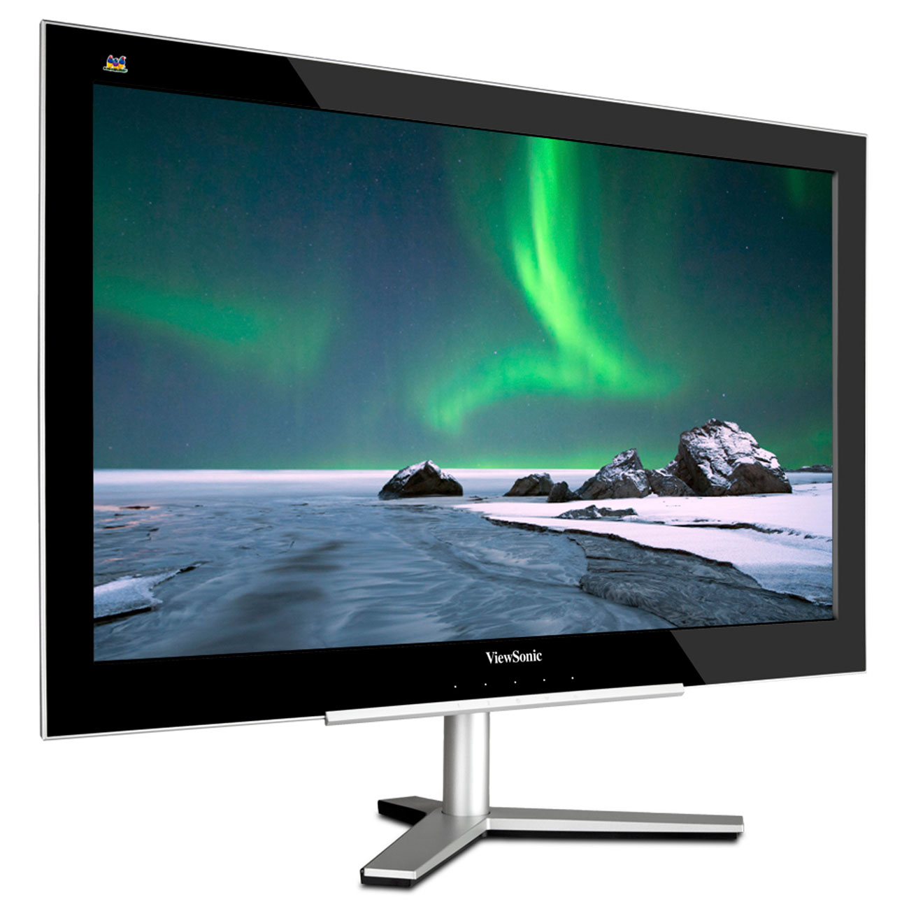 viewsonic 24 led vx2460h led ecran pc viewsonic sur. Black Bedroom Furniture Sets. Home Design Ideas