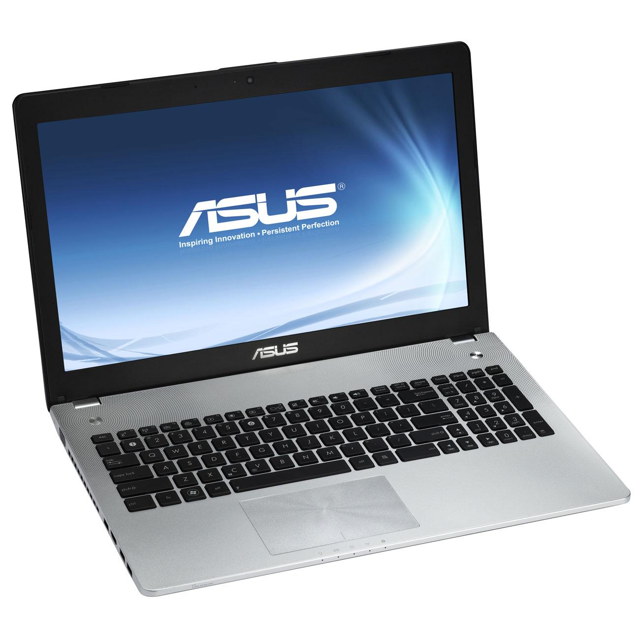 """PC portable ASUS N56VM-S3241V Intel Core i5-3210M 4 Go 750 Go 15.6"""" LED NVIDIA GeForce GT 630M Graveur DVD Wi-Fi N/BT Webcam Windows 7 Premium 64 bits (garantie constructeur 2 ans)"""