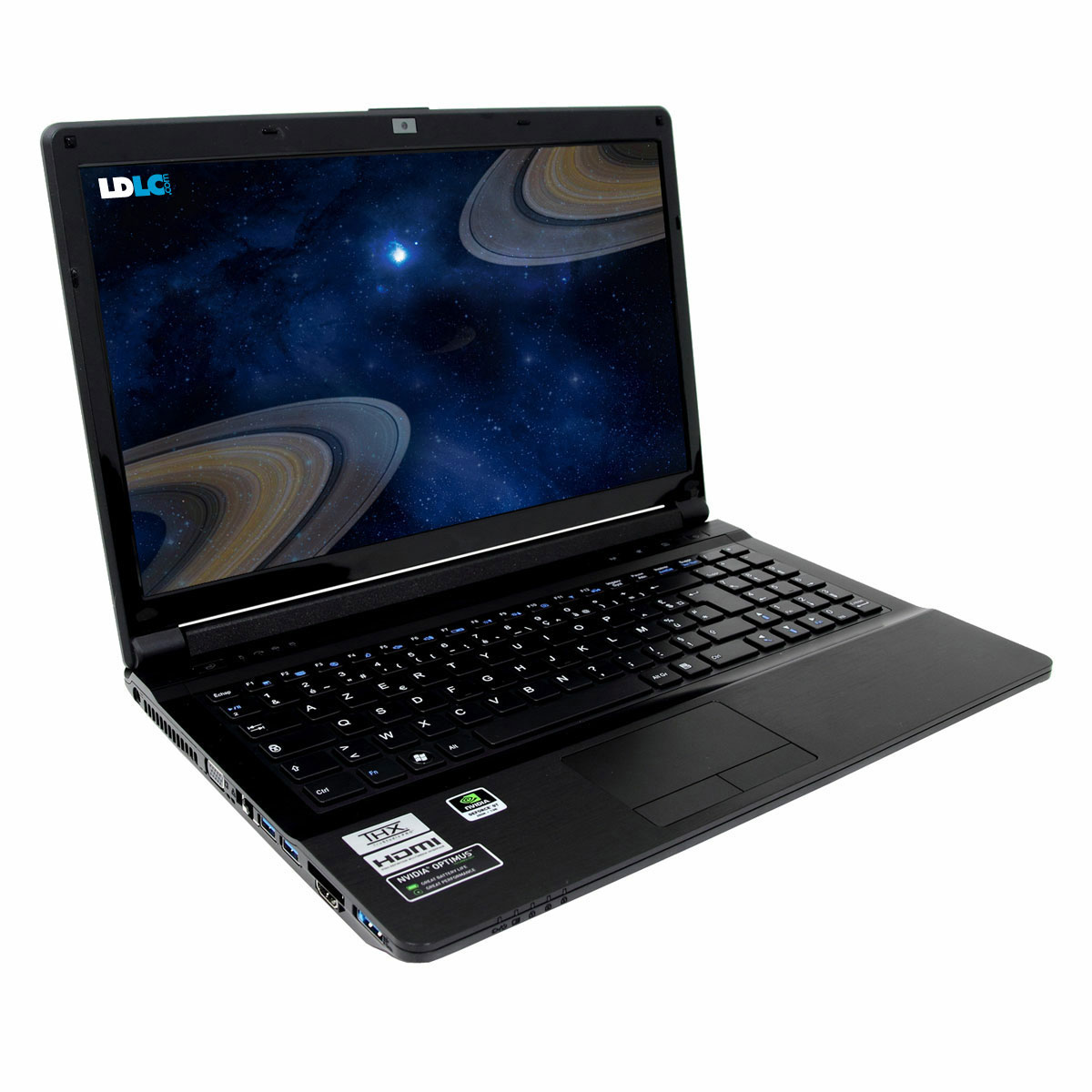 "PC portable LDLC Saturne SB5-I3-8-H10-H Intel Core i3-3110M 8 Go 1 To 15.6"" LED NVIDIA GeForce GT 650M Lecteur Blu-ray/Graveur DVD Wi-Fi N/Bluetooth Webcam Windows 7 Premium 64 bits"