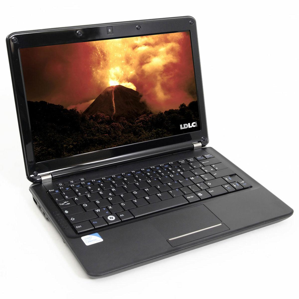 "PC portable LDLC Vulcain SM1-2-S8 Intel Celeron Dual-Core SU2300 2 Go SSD 80 Go 11.6"" LCD Wi-Fi N Webcam (sans OS)"