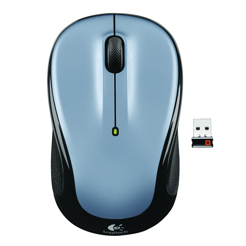 Souris PC Logitech Wireless Mouse M325 (Argent) Souris sans fil - ambidextre - capteur optique 1000 dpi - 3 boutons