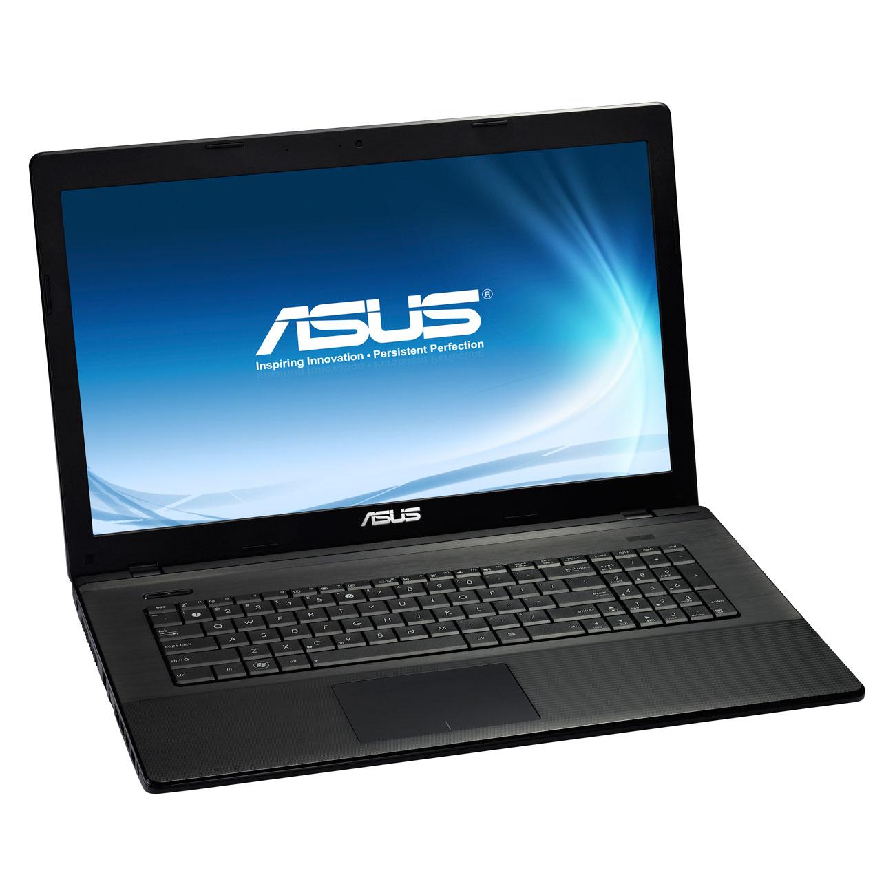 """PC portable ASUS X75A-TY234H Intel Core i3-2370M 4 Go 1 To 17.3"""" LED Graveur DVD Wi-Fi N Webcam Windows 8 64 bits (garantie constructeur 1 an)"""