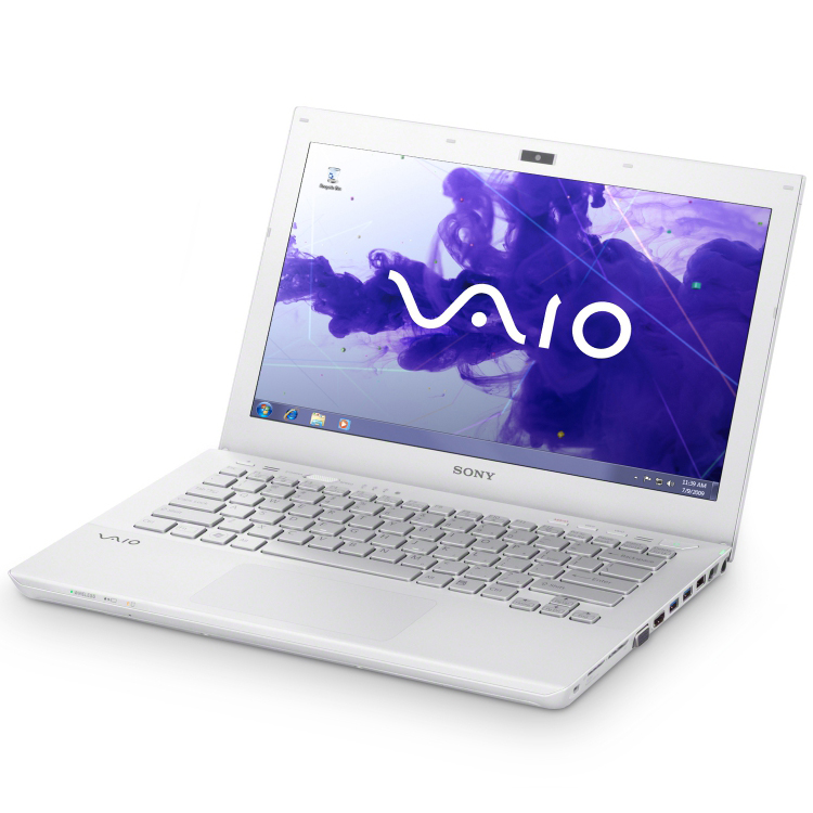 sony vaio s1311f3e blanc pc portable sony sur. Black Bedroom Furniture Sets. Home Design Ideas