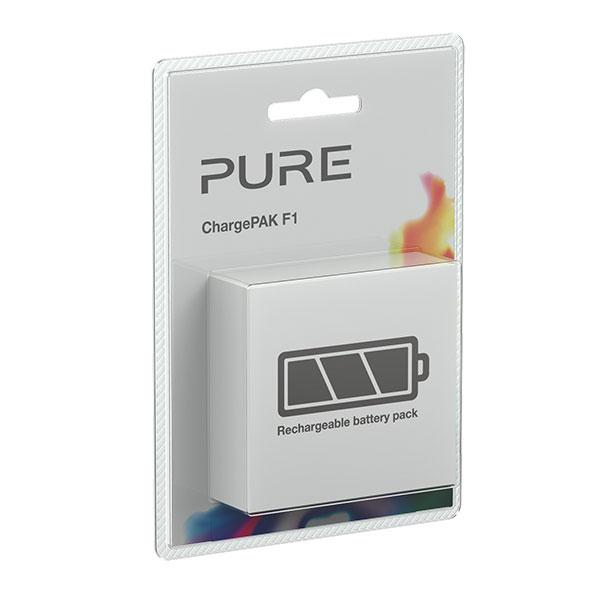 Batterie compatible Pure ChargePAK F1 Batterie pour radio Pure Evoke F4, Evoke D4 et Sensia 200