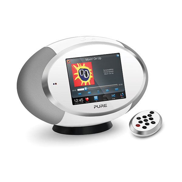 pure sensia 200d connect blanc radio radio r veil pure sur. Black Bedroom Furniture Sets. Home Design Ideas