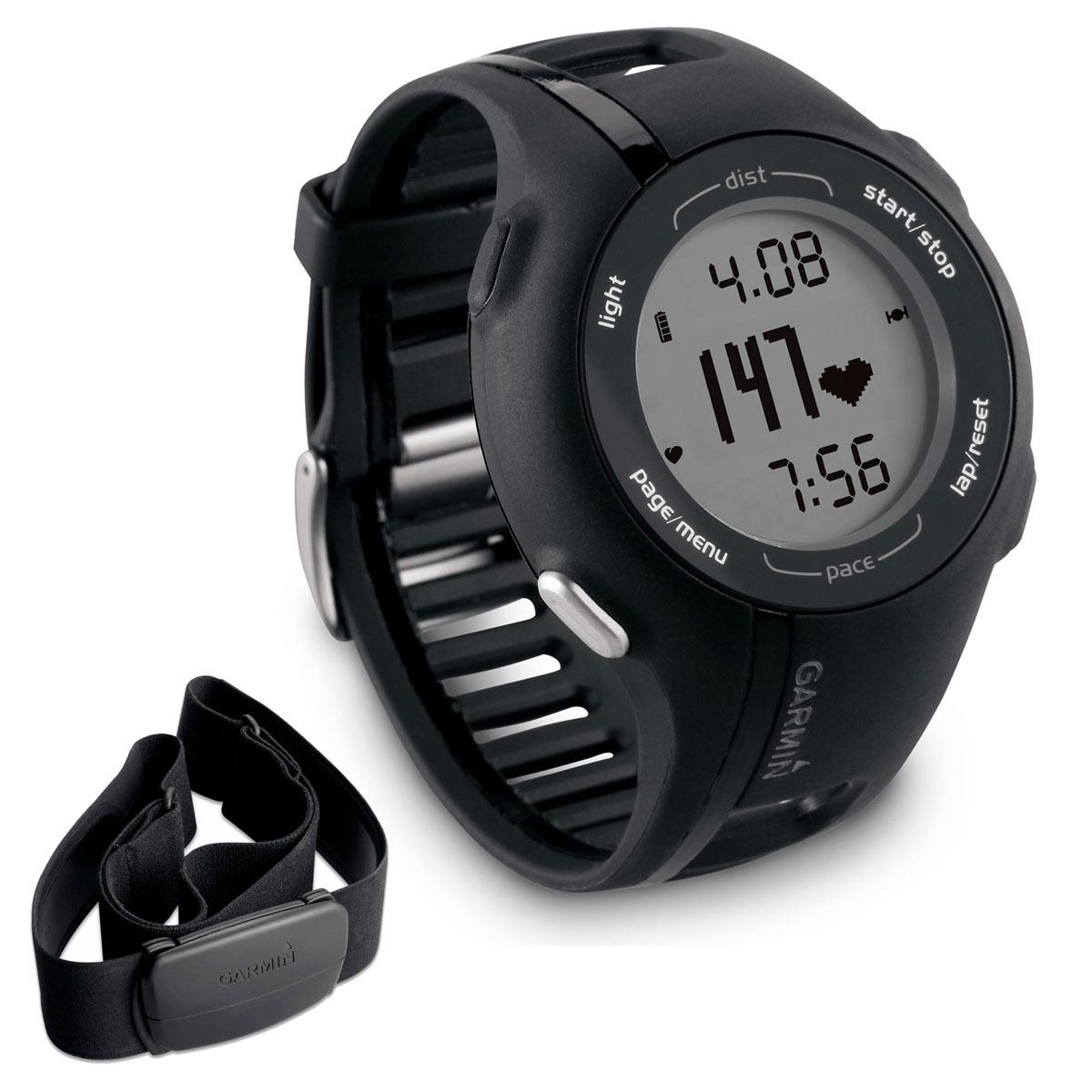 garmin forerunner 210 hrm montre running garmin sur. Black Bedroom Furniture Sets. Home Design Ideas