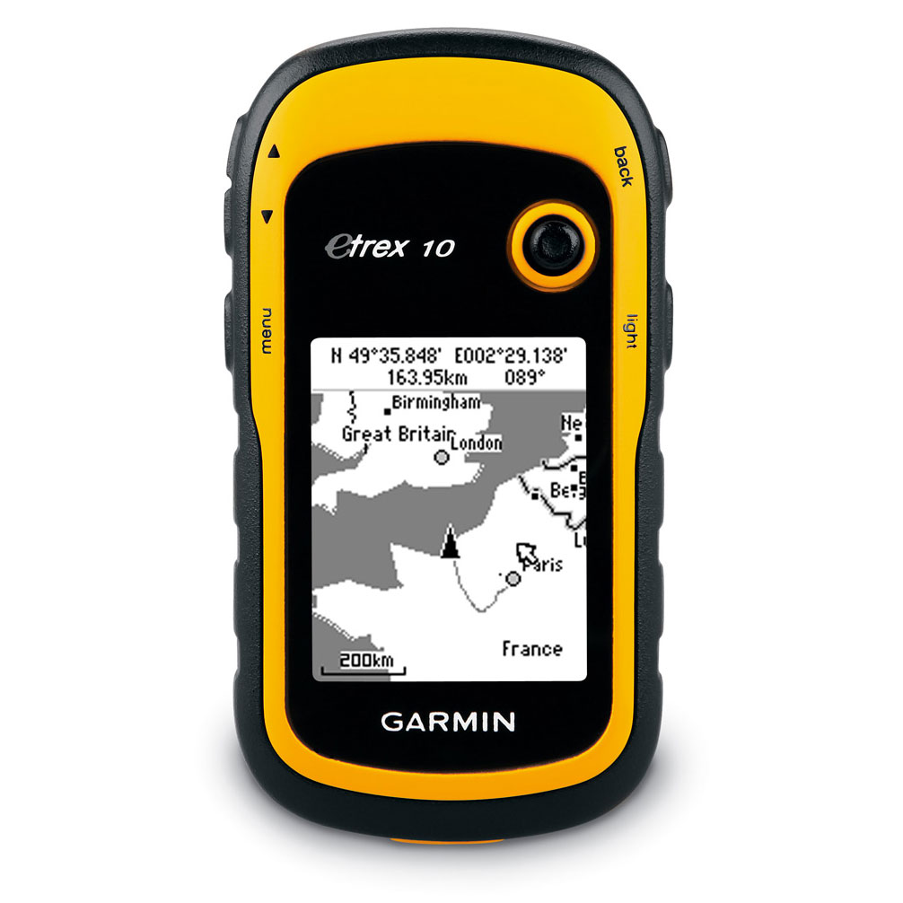 GPS Garmin eTrex 10 GPS de randonnée 2,2 pouces