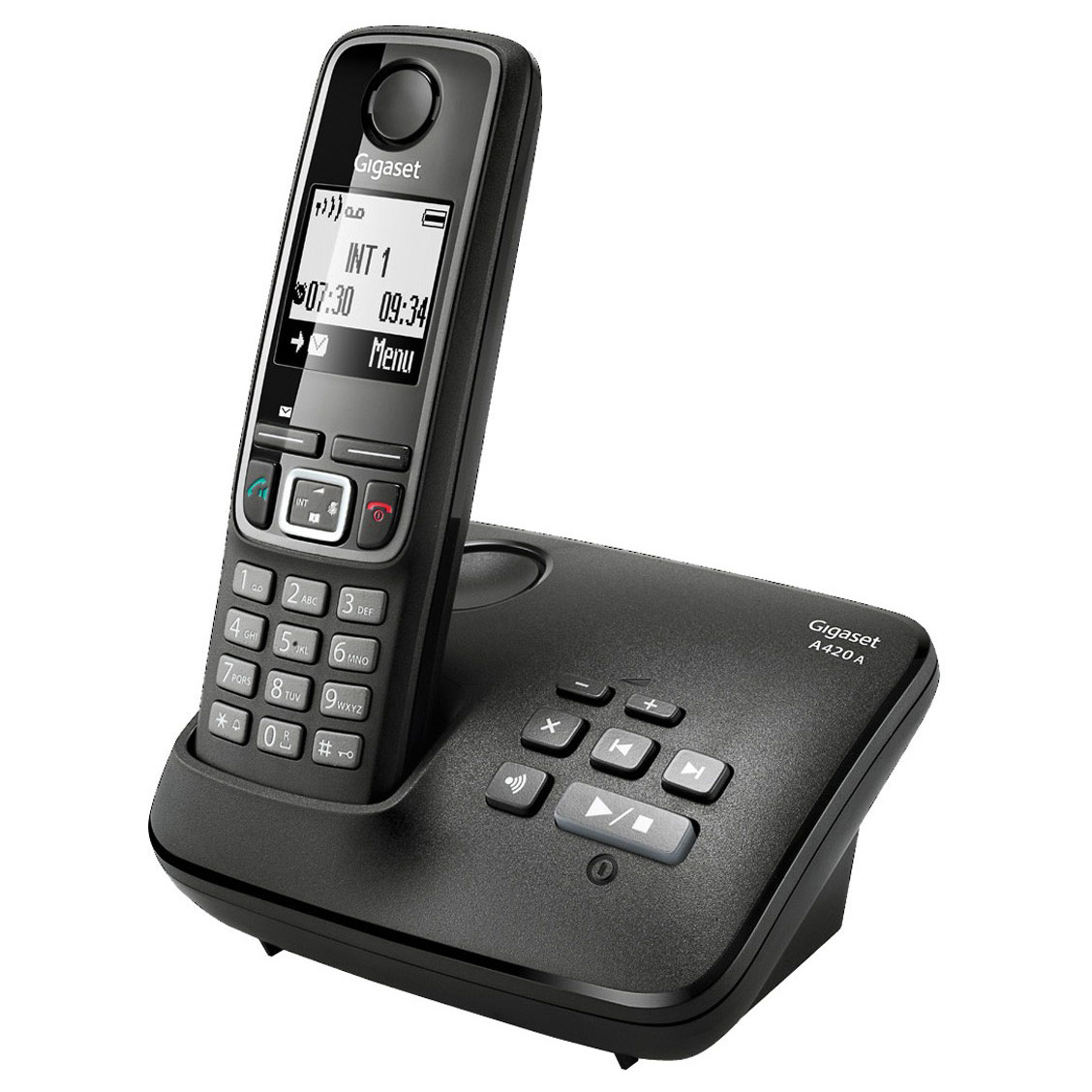 Téléphone sans fil Gigaset A420A Téléphone sans fil DECT avec répondeur (version française)