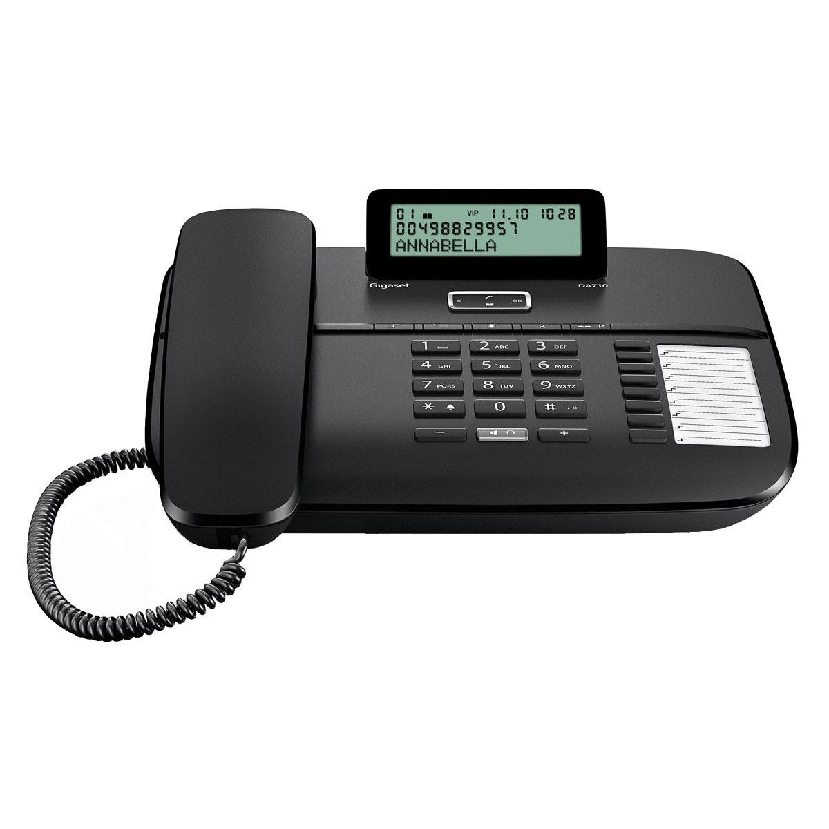 Téléphone filaire Gigaset DA710 Téléphone filaire (version française)