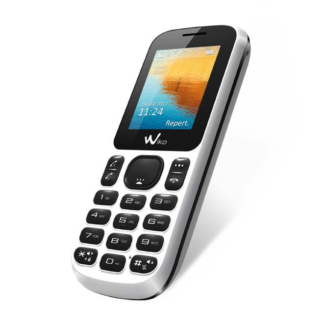 Mobile & smartphone Wiko Lubi+ B1021C Blanc Téléphone 2G avec 2 ports pour cartes SIM