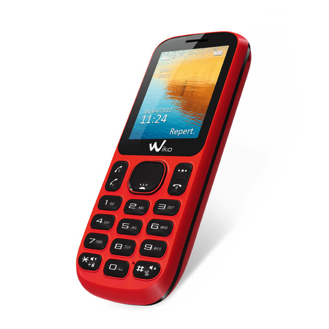 Mobile & smartphone Wiko Lubi+ B1020C Rouge Téléphone 2G avec 2 ports pour cartes SIM
