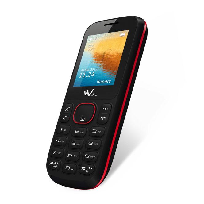 Mobile & smartphone Wiko Lubi+ B1020C Noir Téléphone 2G avec 2 ports pour cartes SIM