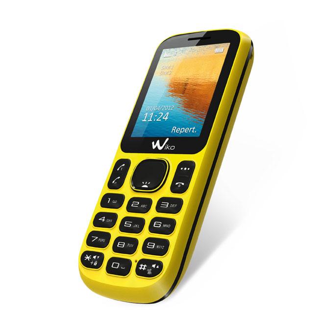 wiko lubi b1021c jaune mobile smartphone wiko sur. Black Bedroom Furniture Sets. Home Design Ideas