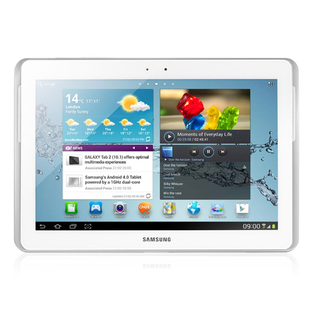 samsung galaxy tab 10 1 2 gt p5110 blanc 16 go tablette tactile samsung sur. Black Bedroom Furniture Sets. Home Design Ideas