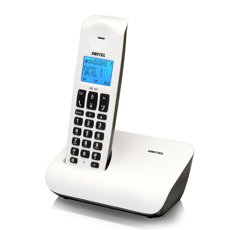 switel de 181 arrow blanc t l phone sans fil switel sur. Black Bedroom Furniture Sets. Home Design Ideas