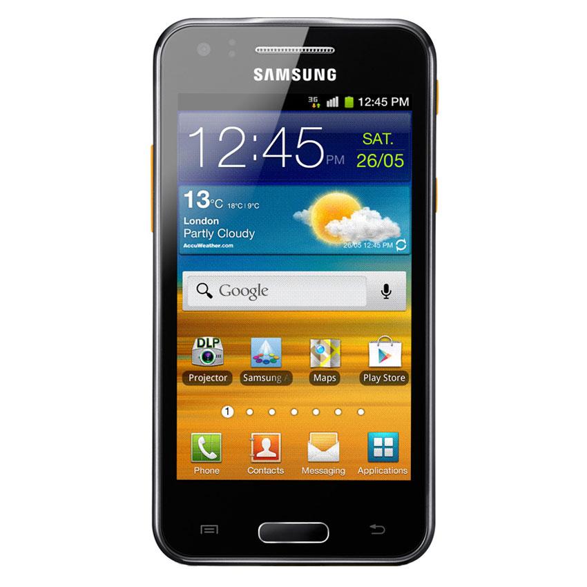samsung galaxy beam i8530 ebony grey mobile smartphone. Black Bedroom Furniture Sets. Home Design Ideas