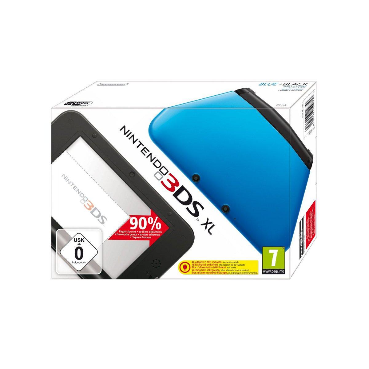 Nintendo 3ds xl bleue console nintendo 3ds nintendo sur - Console de jeux portable tactile ...