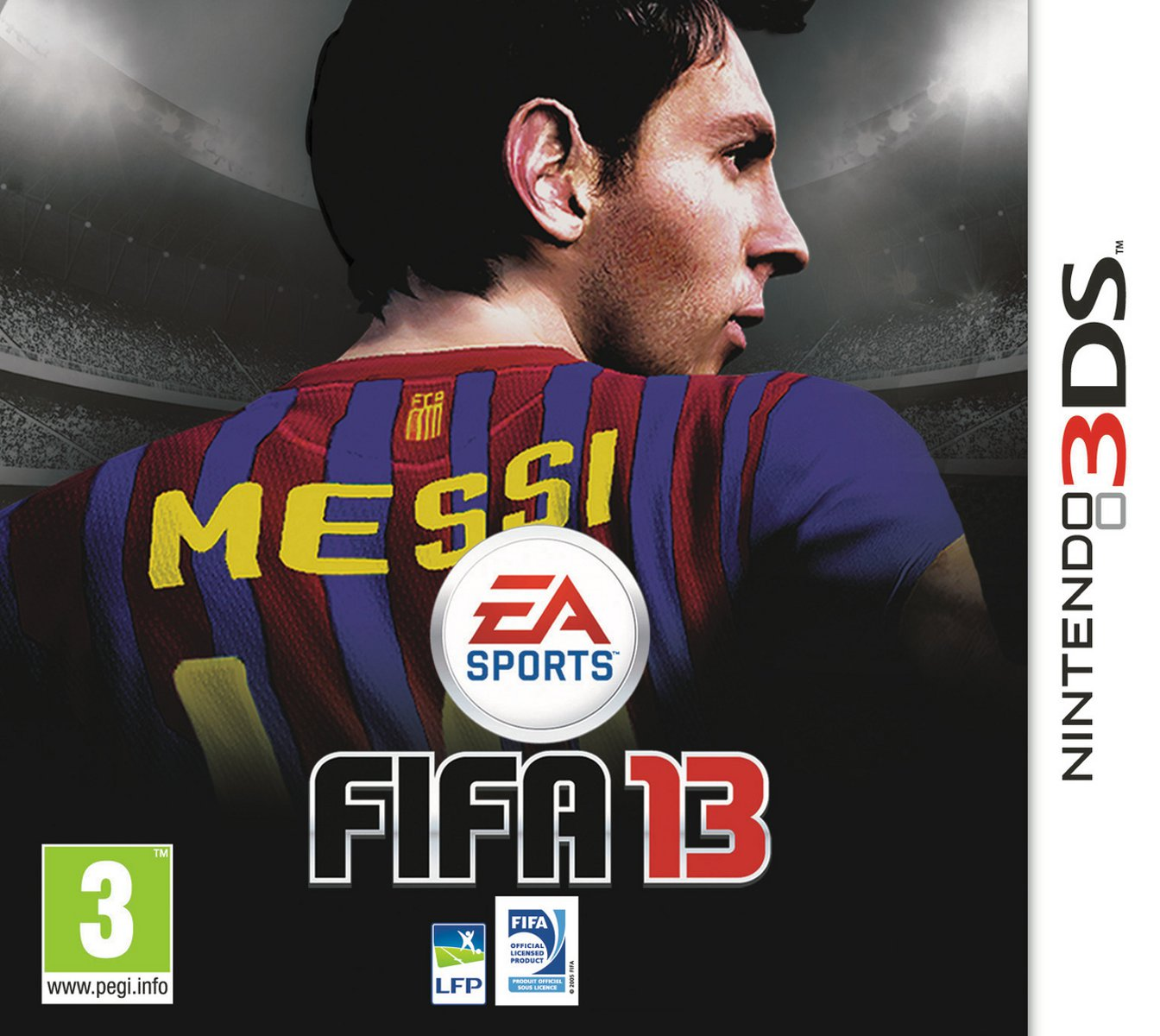 fifa 13 nintendo 3ds jeux nintendo 3ds electronic arts sur. Black Bedroom Furniture Sets. Home Design Ideas