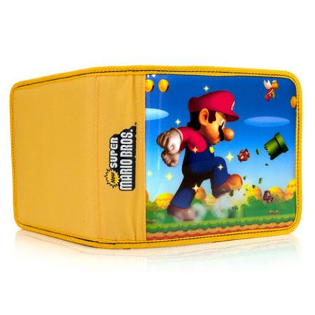 Pdp 3ds pull go super mario nintendo 3ds accessoires for Housse 3ds xl pokemon