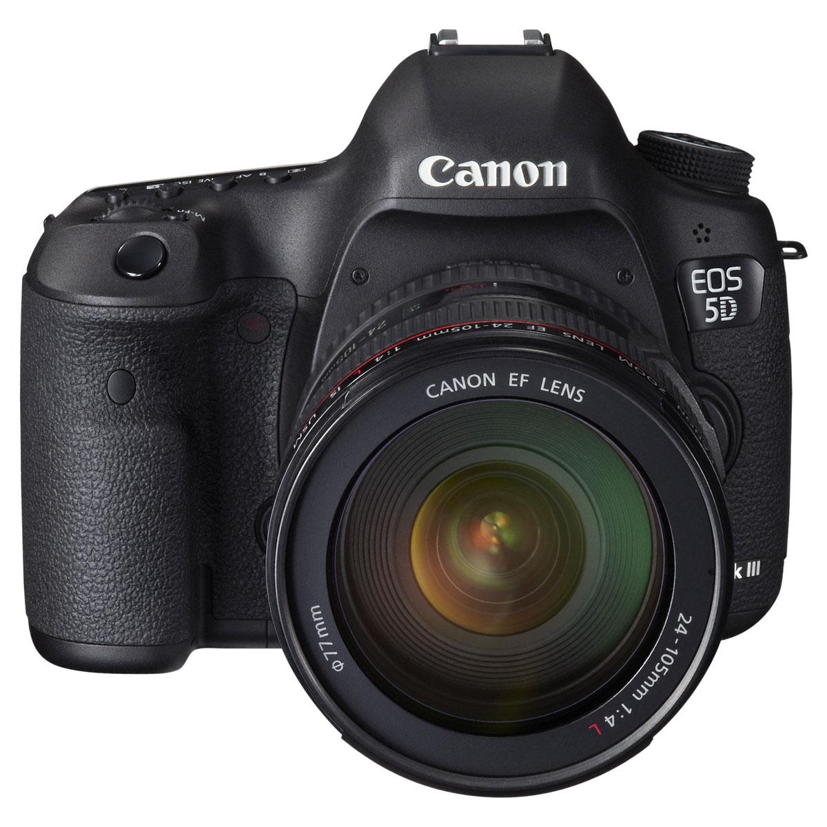 canon eos 5d mark iii objectif 24 105 mm appareil photo reflex canon sur. Black Bedroom Furniture Sets. Home Design Ideas