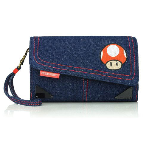 Pdp housse toad en denim nintendo 3ds 3ds xl for Housse 3ds xl pokemon
