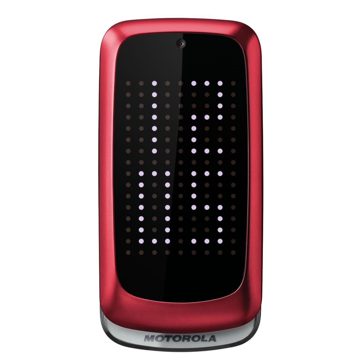 Motorola gleam red mobile smartphone motorola sur for Photo ecran motorola