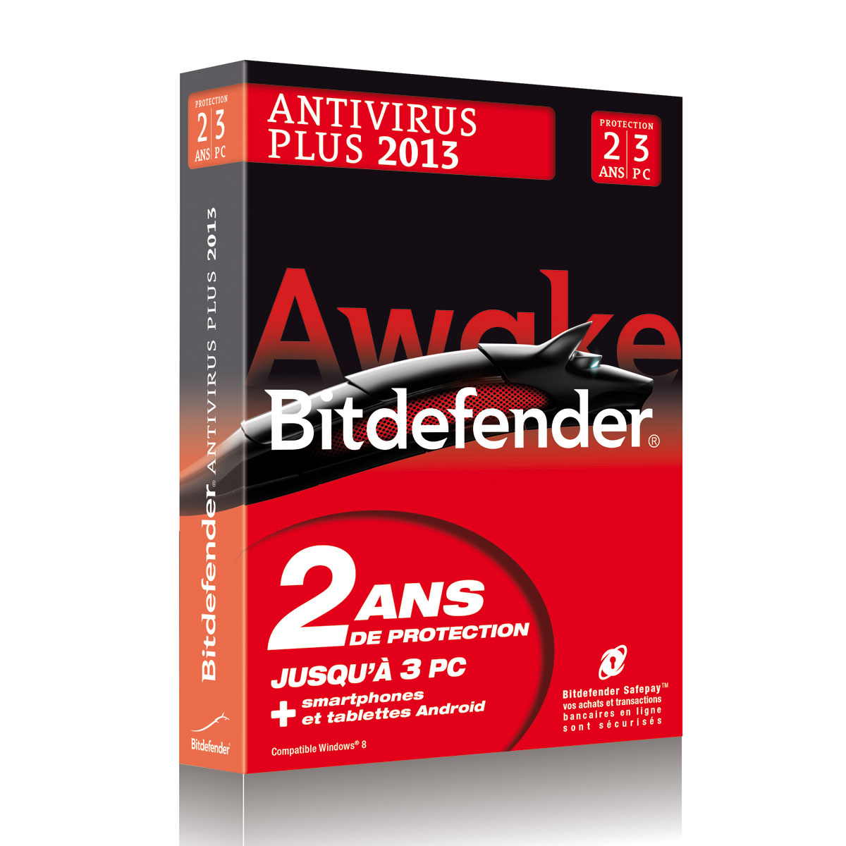 bitdefender antivirus plus 2013 licence 2 ans 3 postes logiciel s curit bitdefender sur. Black Bedroom Furniture Sets. Home Design Ideas