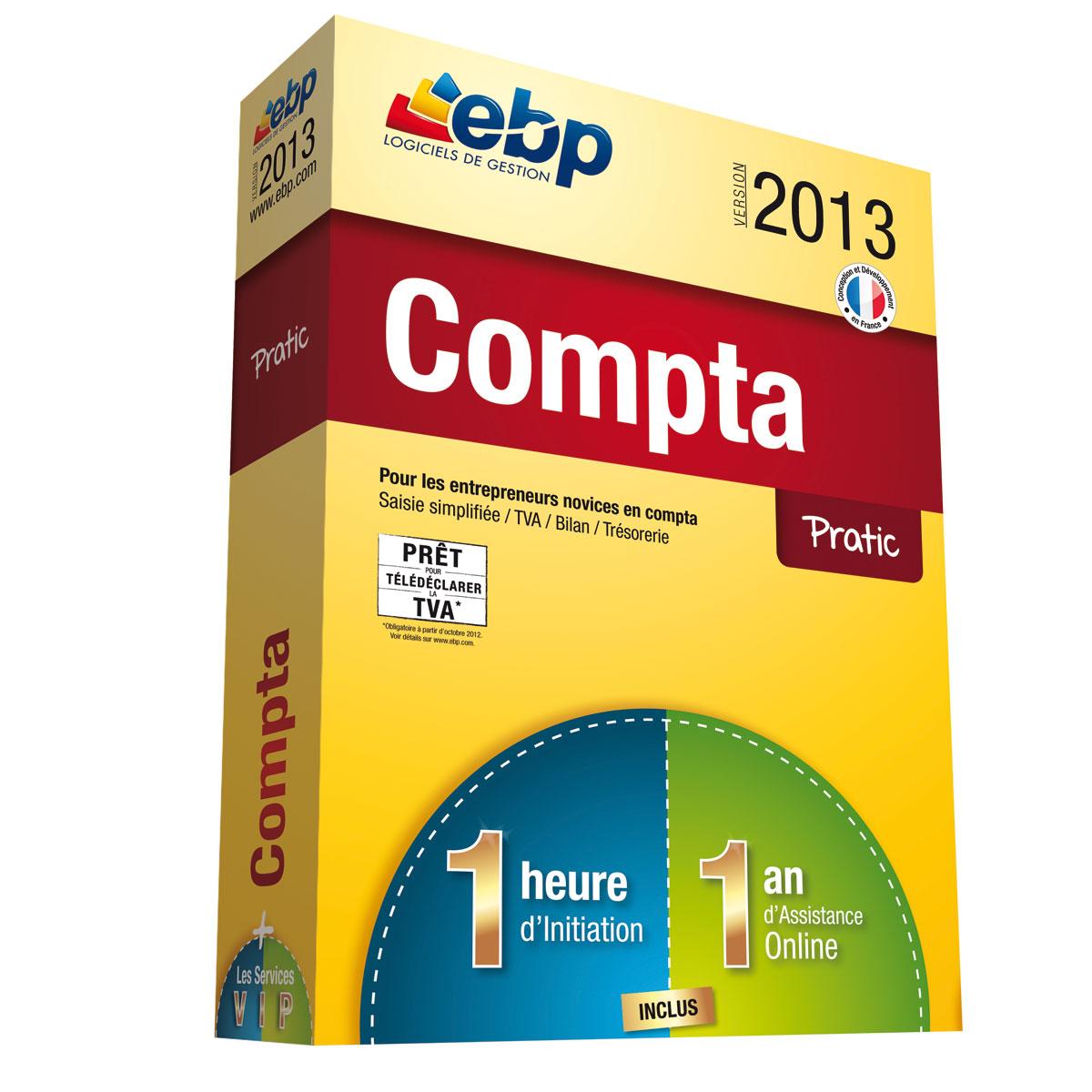 Ebp compta pratic open line 2013 services vip logiciel - Materiel de bureau comptabilite ...