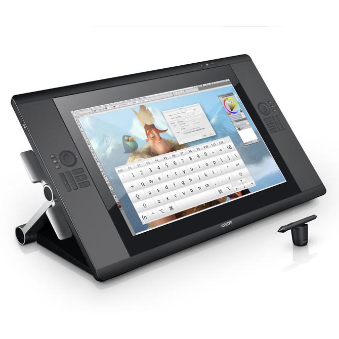 Tablette graphique Wacom Cintiq 24HD touch Tablette graphique professionnelle (PC / MAC)