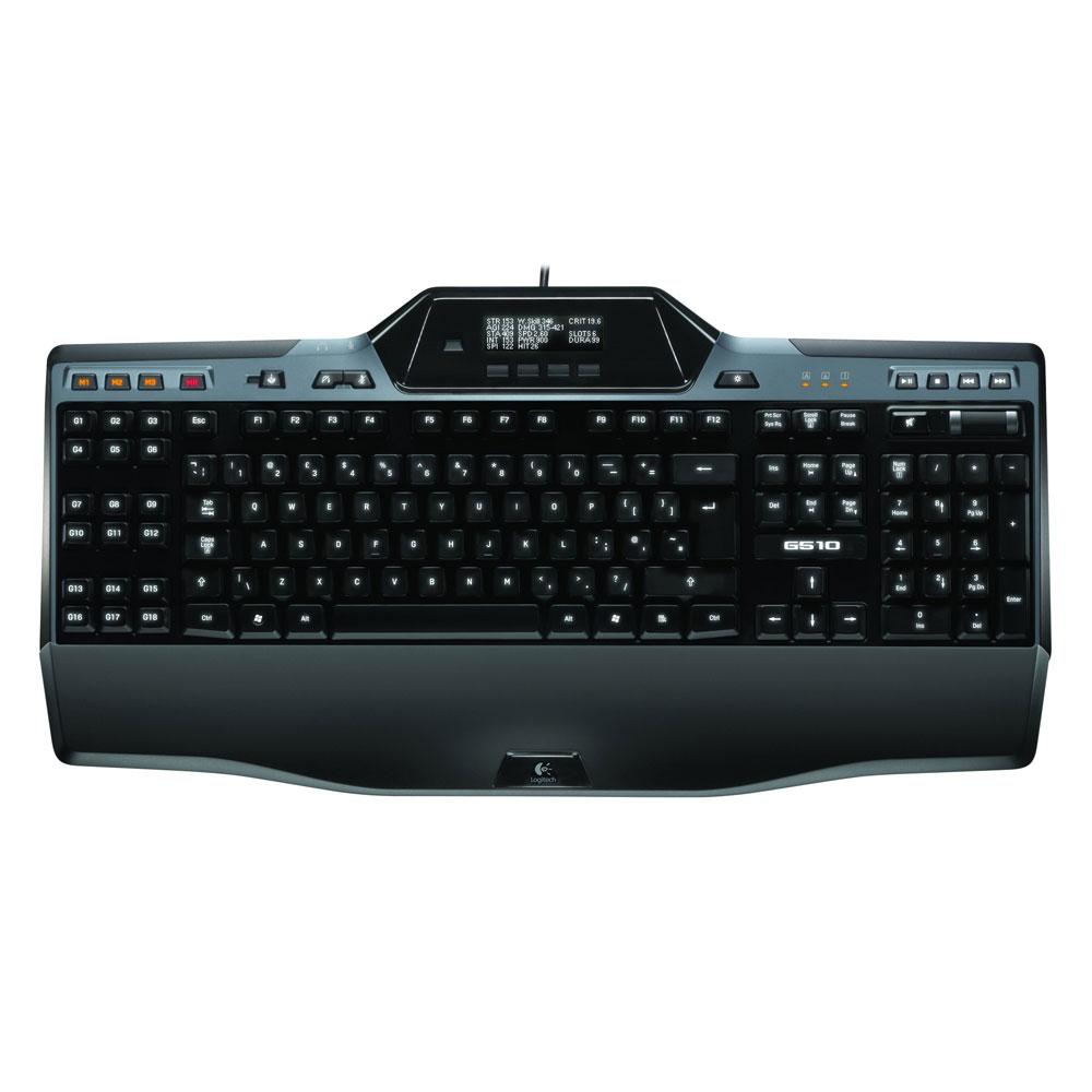 logitech gaming keyboard g510 clavier pc logitech sur. Black Bedroom Furniture Sets. Home Design Ideas