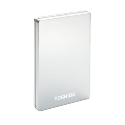toshiba store alu 2 320 go argent disque dur externe toshiba sur. Black Bedroom Furniture Sets. Home Design Ideas