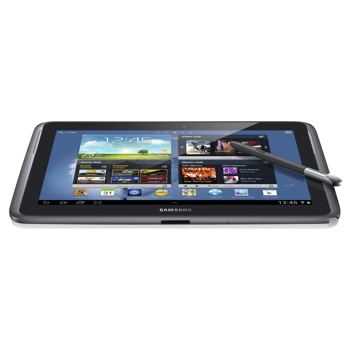 samsung galaxy note 10 1 gt n8000 grise 32 go tablette tactile samsung sur. Black Bedroom Furniture Sets. Home Design Ideas