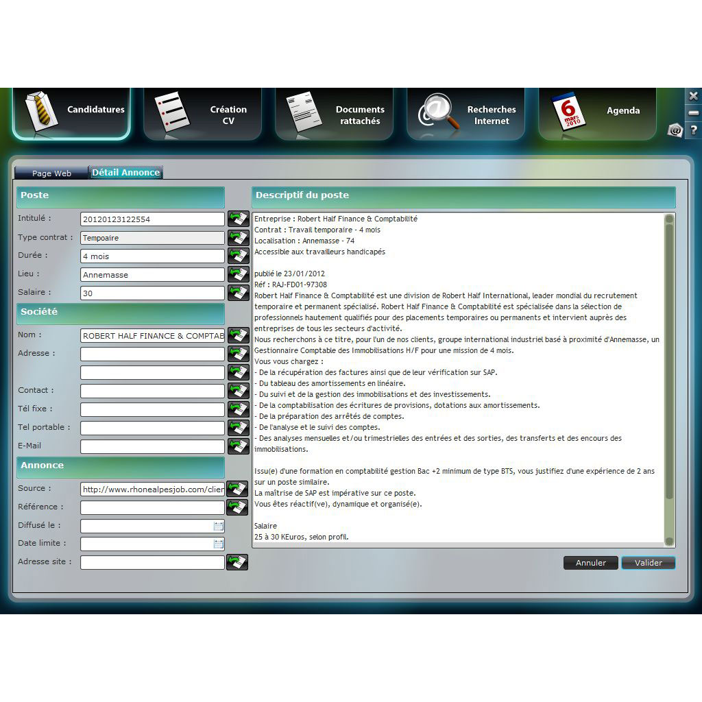 poinka cv manager 2013  fran u00e7ais  windows
