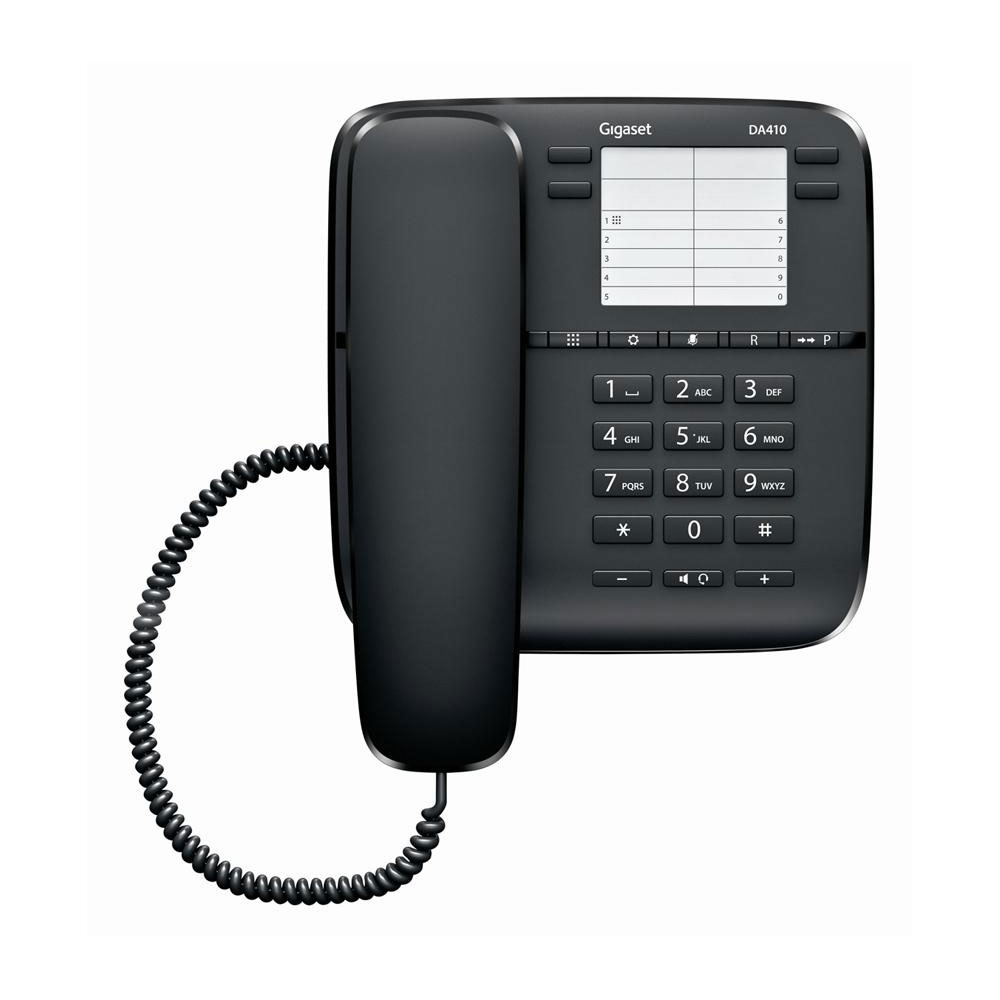 Gigaset da410 t l phone filaire gigaset sur - Telephone fixe avec prise jack ...