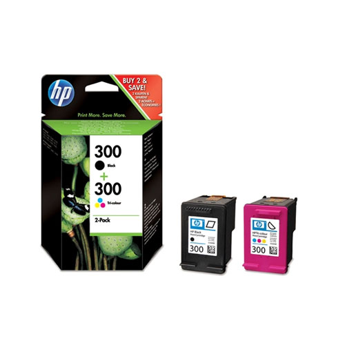 hp 300 ink cartridge combo 2 pack cartouche imprimante hp sur. Black Bedroom Furniture Sets. Home Design Ideas