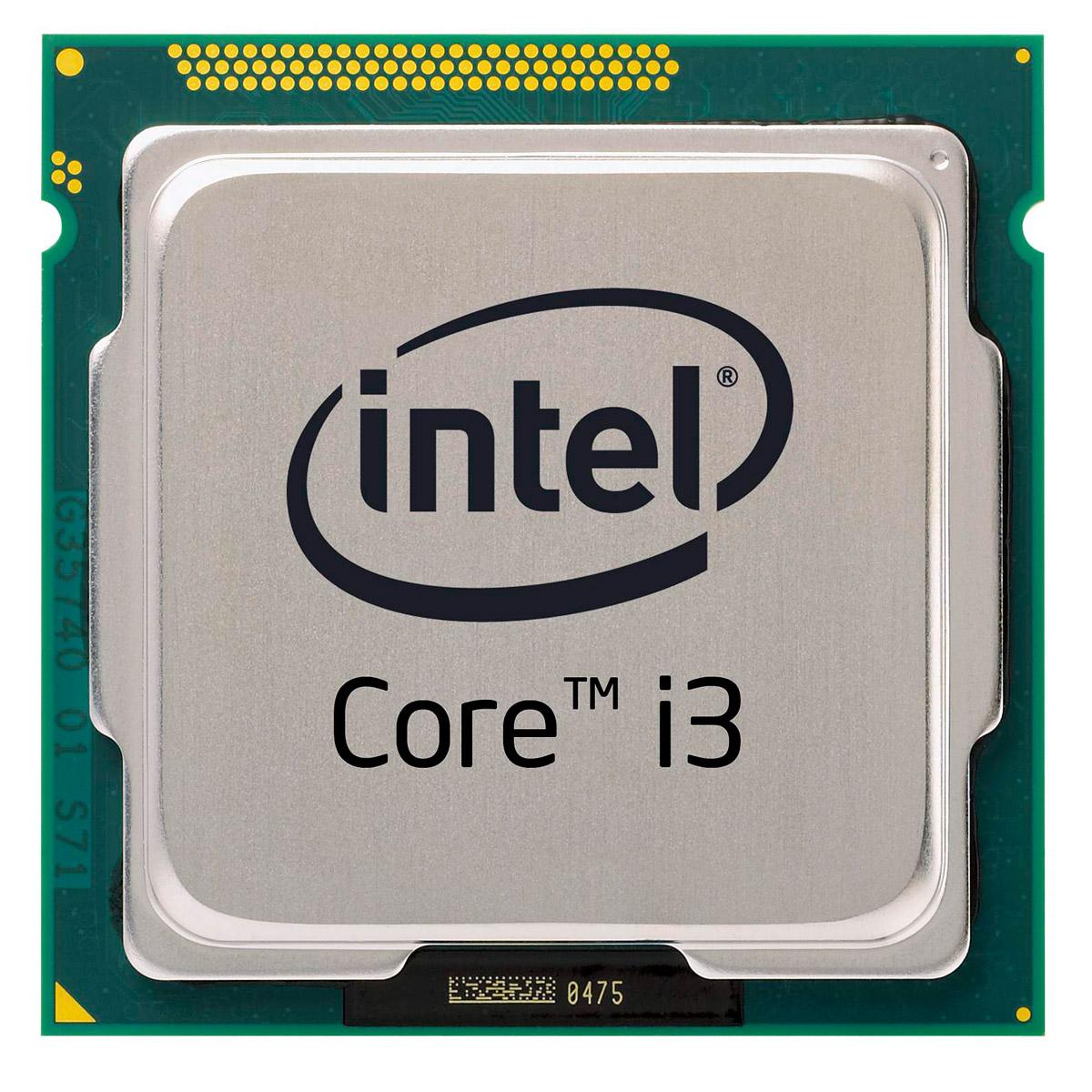 Processeur Intel Core i3-3220 (3.3 GHz) Processeur Dual Core Socket 1155 Cache L3 3 Mo Intel HD Graphics 2500 0.022 micron (version boîte - garantie Intel 3 ans)