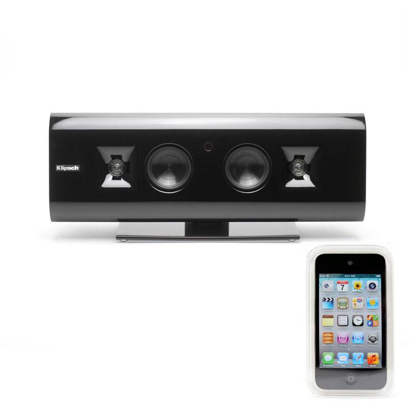 klipsch g 17 hs apple ipod touch 8 go enceintes hifi. Black Bedroom Furniture Sets. Home Design Ideas